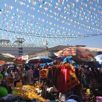 Photo taken at Mapusa Market by Leroy A. on 12/14/2012