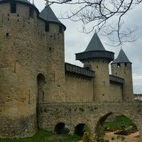 Photo taken at Château Comtal de la Cité de Carcassonne by Dick on 5/6/2016