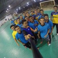 Photo taken at dss futsal by Emir I. on 3/7/2016