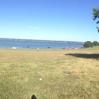 Photo taken at Windsurf Bay Park by Renee I. on 7/12/2015