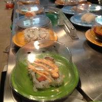 Photo taken at Sushi Sakura by Bradley B. on 10/13/2012
