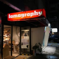 Photo taken at Lomography Gallery Store Taipei by Angeline C. on 11/21/2016