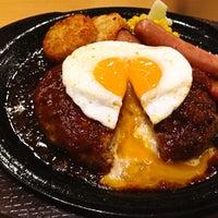 Photo taken at ガスト 長崎駅北店 by るん on 2/17/2014