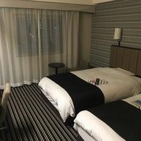 Photo taken at APA Hotel Fukuoka Watanabedori by active_co on 1/8/2016