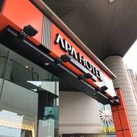 Photo taken at APA Hotel Fukuoka Watanabedori by active_co on 10/8/2016