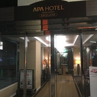 Photo taken at APA Hotel Fukuoka Watanabedori by active_co on 1/15/2016