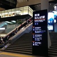 Photo taken at Nankai Namba Station (NK01) by active_co on 5/18/2013