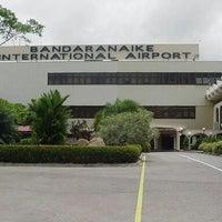 Photo taken at Bandaranaike International Airport (CMB) by Saeed A. on 12/30/2012