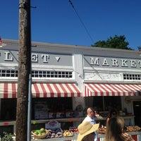 Photo taken at Wellfleet Marketplace by Yoav S. on 7/4/2013
