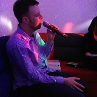 Photo taken at Lincoln Karaoke by Jennifer D. on 5/5/2013