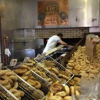 Photo taken at St-Viateur Bagel (La Maison du Bagel) by Emily R. on 11/12/2012