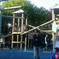Photo taken at St Stephen's Green Playground by Nataly on 10/2/2016