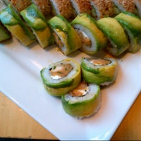 Photo taken at Sushi House by Alejandro W. on 10/28/2012