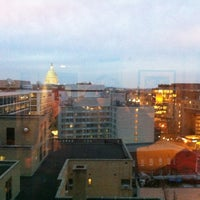 Photo taken at Washington Court Hotel by Rebecca P. on 12/20/2012