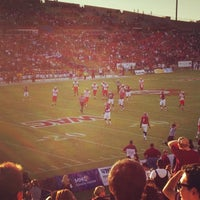 Photo taken at Aggie Memorial Stadium by Jimmie D. on 9/23/2012