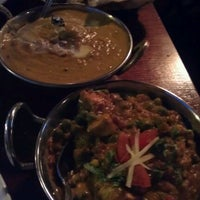 Photo taken at Brick Lane Curry House by Lacey C. on 2/23/2013