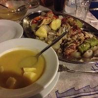 Photo taken at Σωτήρης by Corinna P. on 8/30/2014