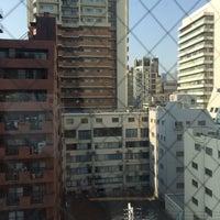 Photo taken at Hotel Mystays Shinsaibashi by Bitoeyy on 5/20/2016