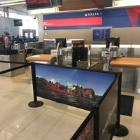 Photo taken at Delta Air Lines Ticket Counter by Jimmy A. on 10/21/2017