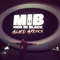 Photo taken at MEN IN BLACK: Alien Attack by David C. on 11/16/2012