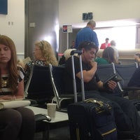 Photo taken at Gate D5 by Chad M. on 5/22/2013