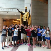 Photo taken at King Kamehameha Statue by Chad M. on 6/6/2013