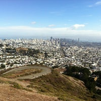 Photo taken at Twin Peaks Summit by Luis C. on 10/5/2012