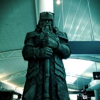 Photo taken at International Terminal by Lee C. on 3/2/2013