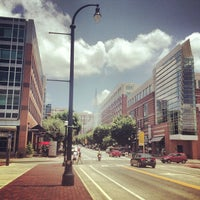 Photo taken at Technology Square by Lee C. on 7/18/2013