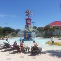 Photo taken at Lake Eva Aquatic Center (Water Park) by Roger K. on 5/5/2013