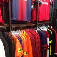 Photo taken at Upper 90 Soccer Store by Max I. on 2/2/2013