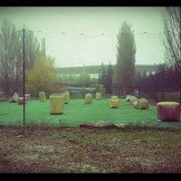 Снимок сделан в Фалькон Пейнтбол пользователем Evgeniy G. 10/21/2012