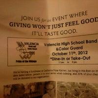 Photo taken at California Pizza Kitchen by Jodi M. on 10/12/2012