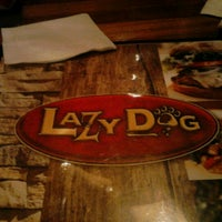Photo taken at Lazy Dog Restaurant & Bar by Jodi M. on 4/12/2013