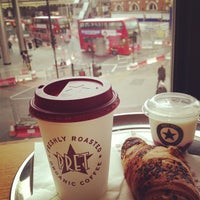 Photo taken at Pret A Manger by Sebastian L. on 5/28/2013