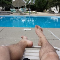 Photo taken at Vista Pool by Josh F. on 8/1/2013