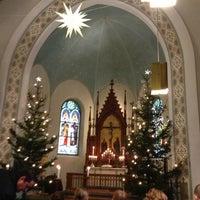 Photo taken at Deutsche Kirche by Antti V. on 12/24/2012