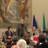 Photo taken at Cappella Farnese by Alessandro G. on 1/15/2013