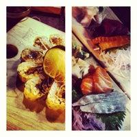 Photo taken at Sushi Dokku by leeleechicago on 6/22/2013