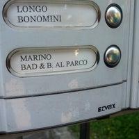 Photo taken at B&B al parco by Giuseppe D. on 6/22/2013