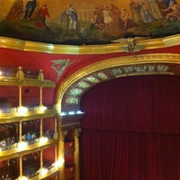 Photo taken at Teatro Degollado by Irina D. on 7/14/2013