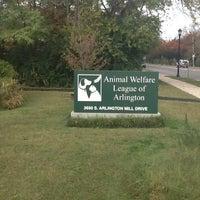 Photo taken at Animal Welfare League of Arlington by Seoul F. on 10/20/2012