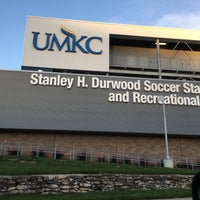 Photo taken at Stanley H. Durwood Soccer Stadium and Recreational Field by Junior E. on 5/27/2015