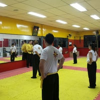 Photo taken at TSKF Academia de Kung Fu Lapa by Rodrigo K. on 3/10/2016