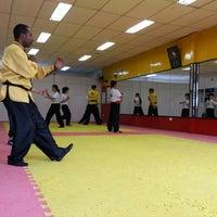 Photo taken at TSKF Academia de Kung Fu Lapa by Rodrigo K. on 10/10/2015