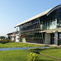 Photo taken at Aeroporto de Joinville / Lauro Carneiro de Loyola (JOI) by Rodrigo K. on 4/26/2013