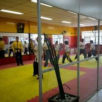 Photo taken at TSKF Academia de Kung Fu Lapa by Rodrigo K. on 2/13/2016