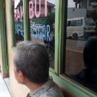 Photo taken at Pangkas Rambut ASGAR by Nadya A. on 12/8/2012