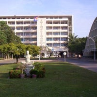 Photo taken at Royal University Phnom Penh by Michael S. on 8/18/2015