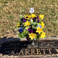 Photo taken at Rosewood Memorial Park by David S. on 2/28/2016